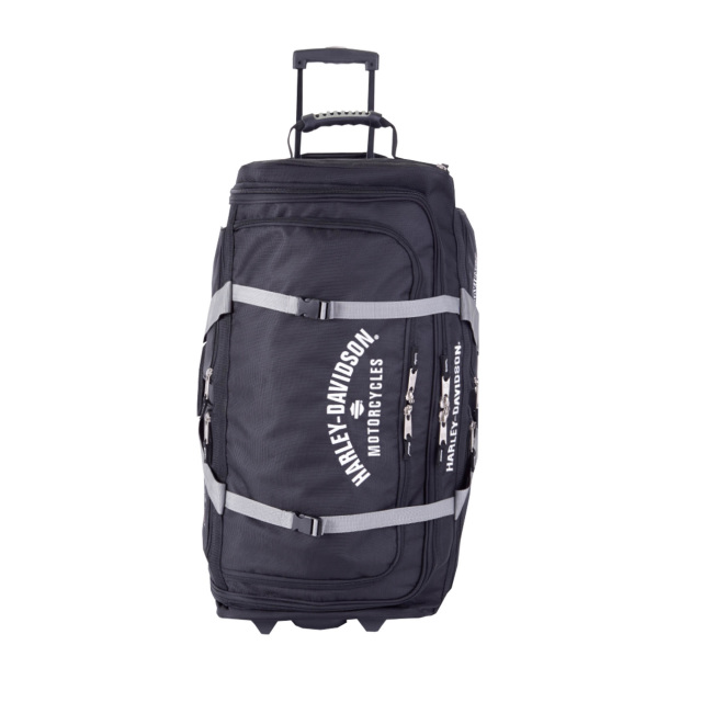 Harley Davidson 174 By Athalon 15 Pocket Wheeling Duffel Bags